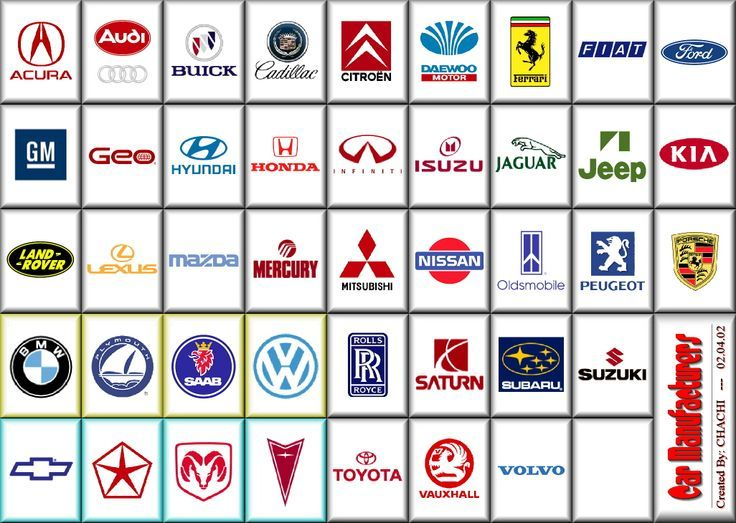 Cars Logos And Names List >> Pin by All Things Vehicle Related on Car Manufacturers Logos | Pinterest | Car manufacturers and ...