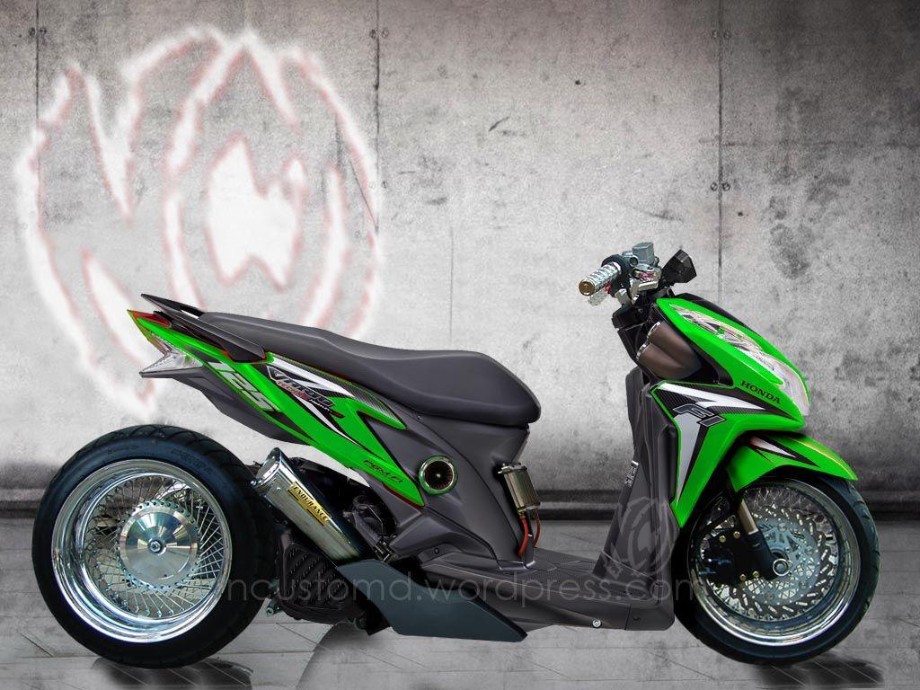 Koleksi 59 Modifikasi Motor Honda Vario 125 Iss Terupdate Ruji Motor