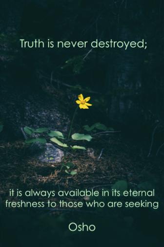Truth eternal osho