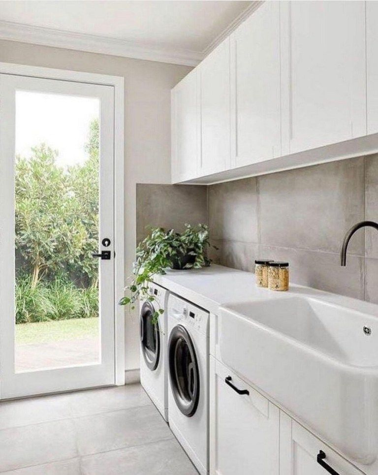 ✔37 beautiful laundry room designs for your home 7 #bathroomlaundry