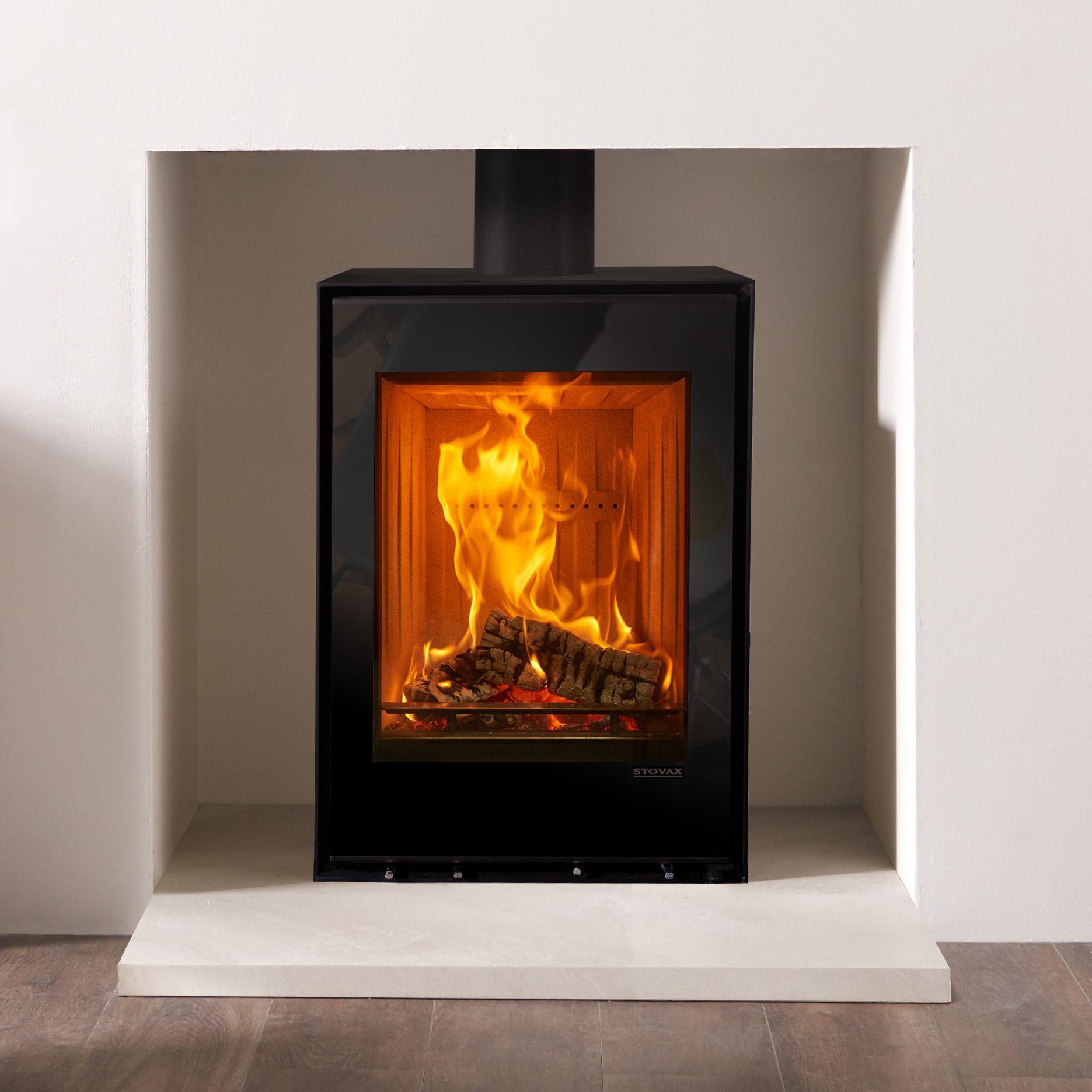 Freestanding Elise 540T Wood Burning and Multifuel Stoves