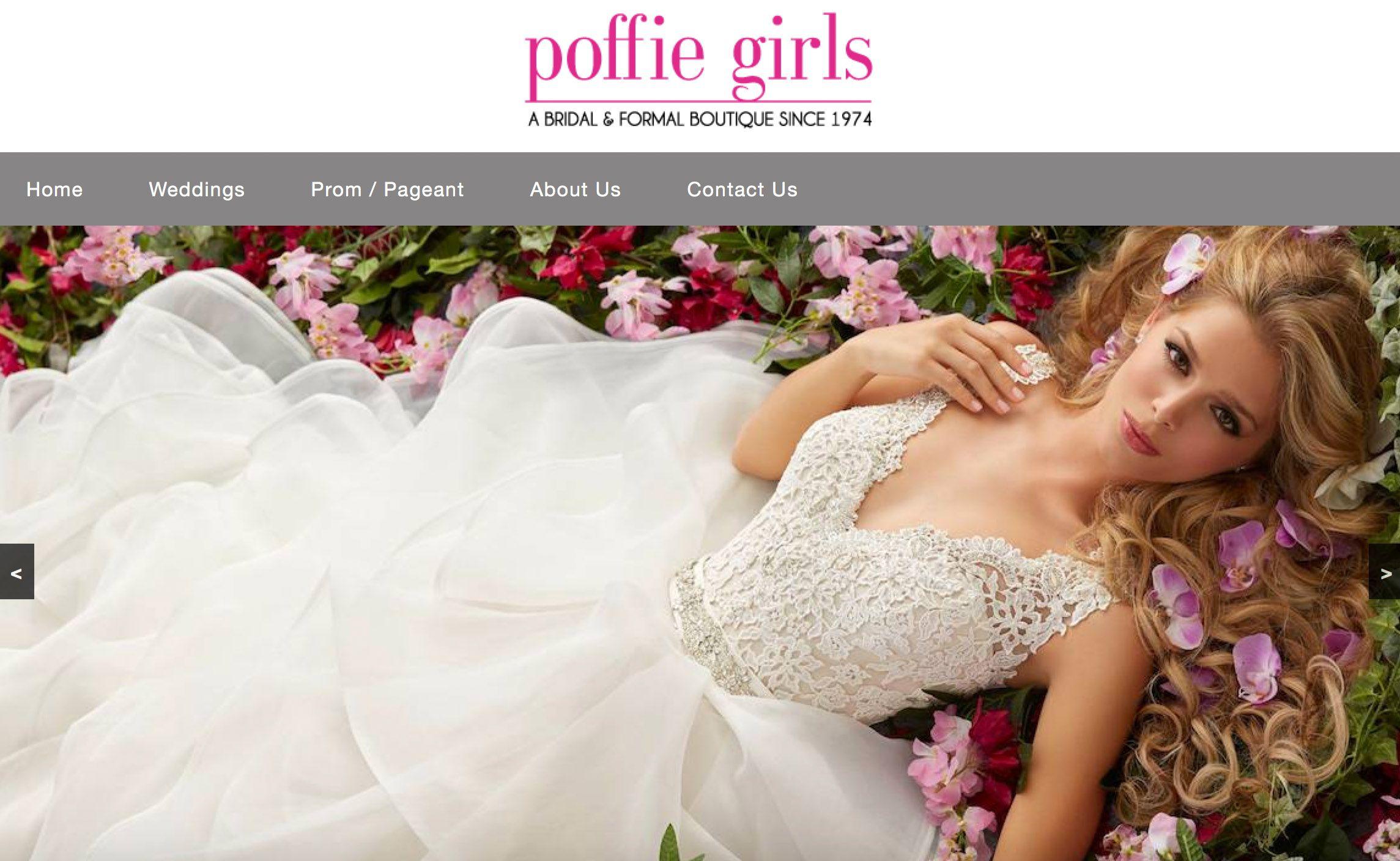 Poffie Girls Charlotte Nc Bridal Shop Wedding Dresses