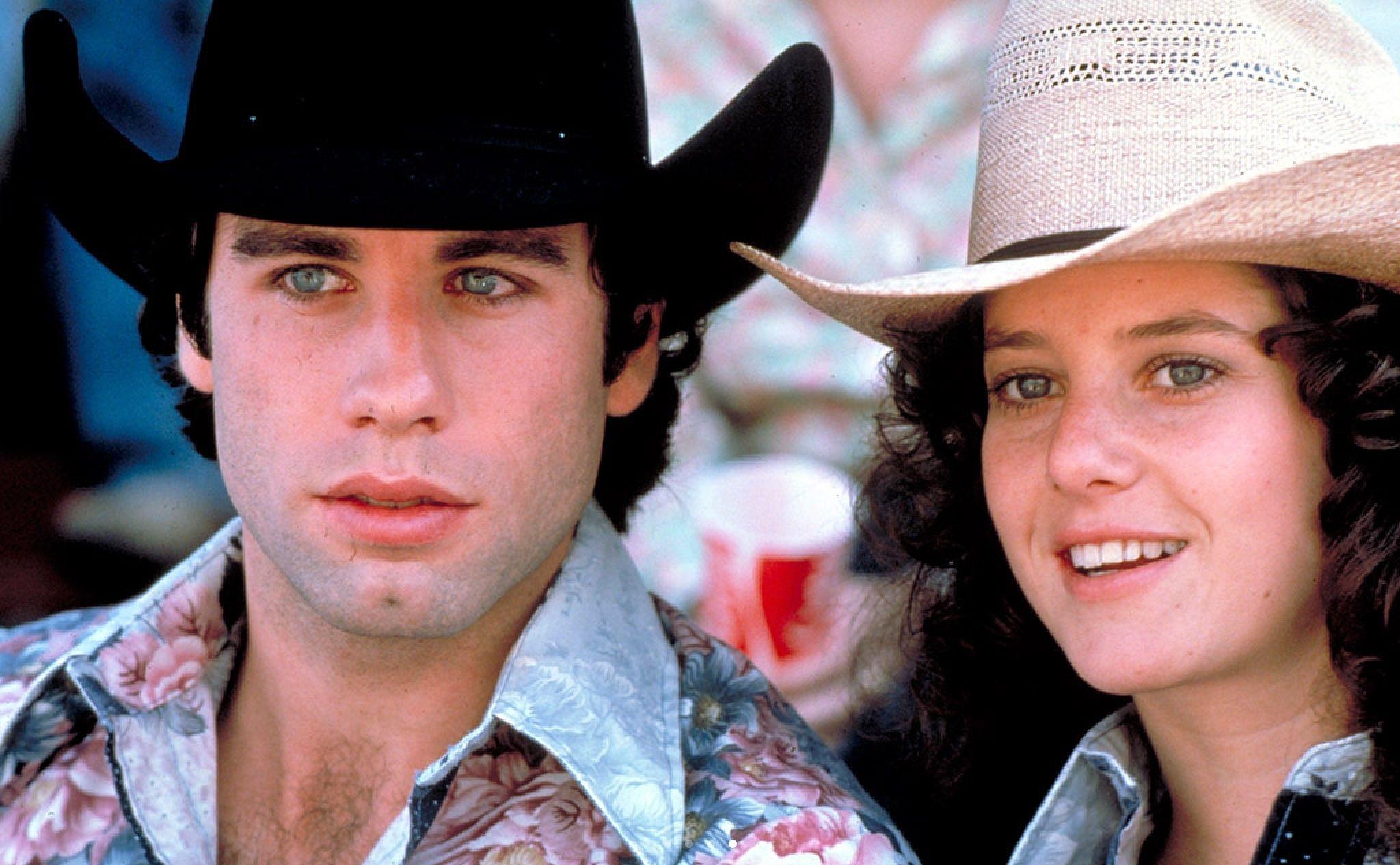 URBAN COWBOY (1980) John Travolta & Debra Winger