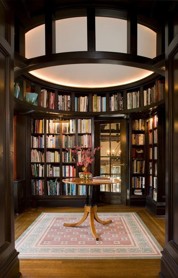 Round Wall Bookshelves Floor To Ceiling Design Family Room Furniture