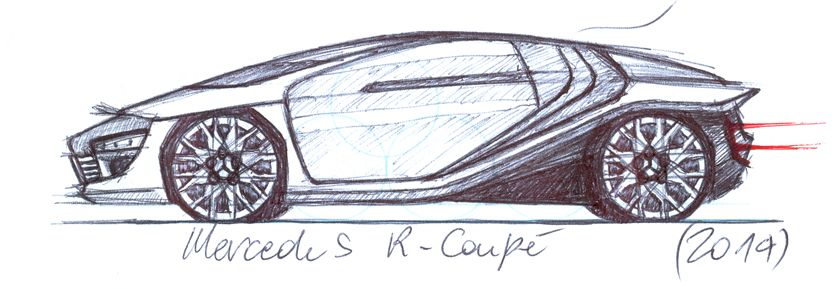 Mercedes R-Cuopé - Paolo Zardo // qbo_architecture 2015 - Copyright, all rights reserved ©