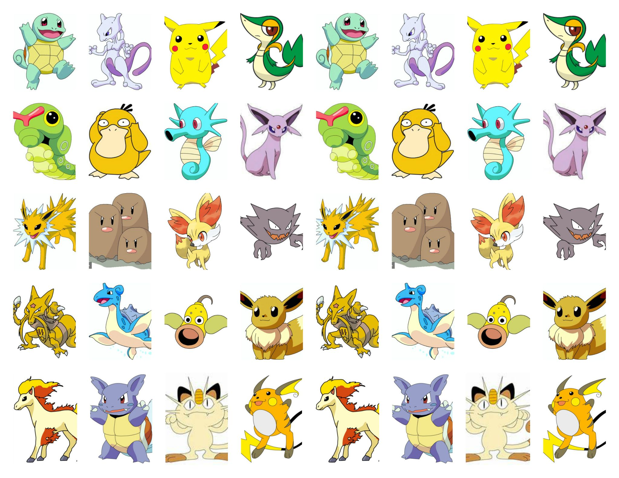 It's just a picture of Printable Pokedex with 1st gen