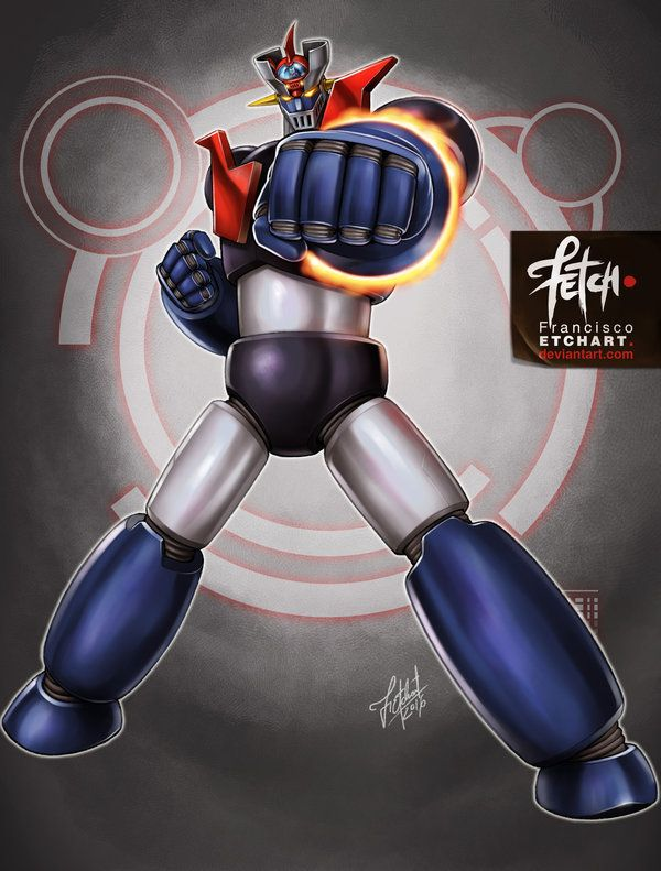 1 32 robots mazinger z by franciscoetchart