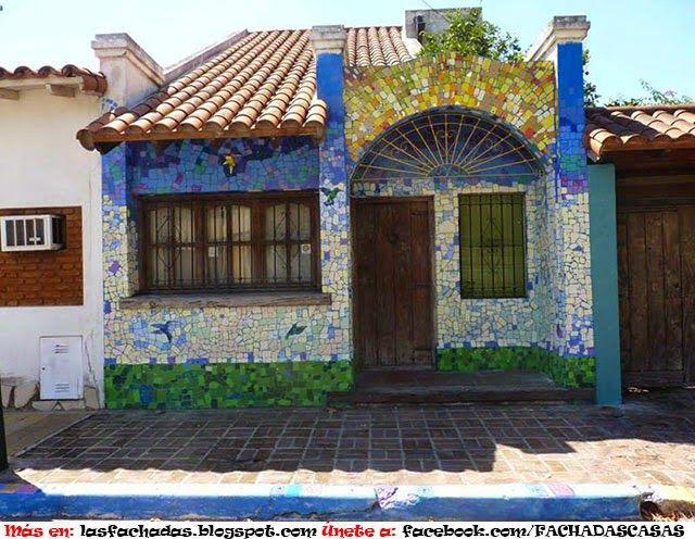 FACHADAS PINTADAS Home made Pinterest Fachadas, Pintar y Sena - fachadas originales