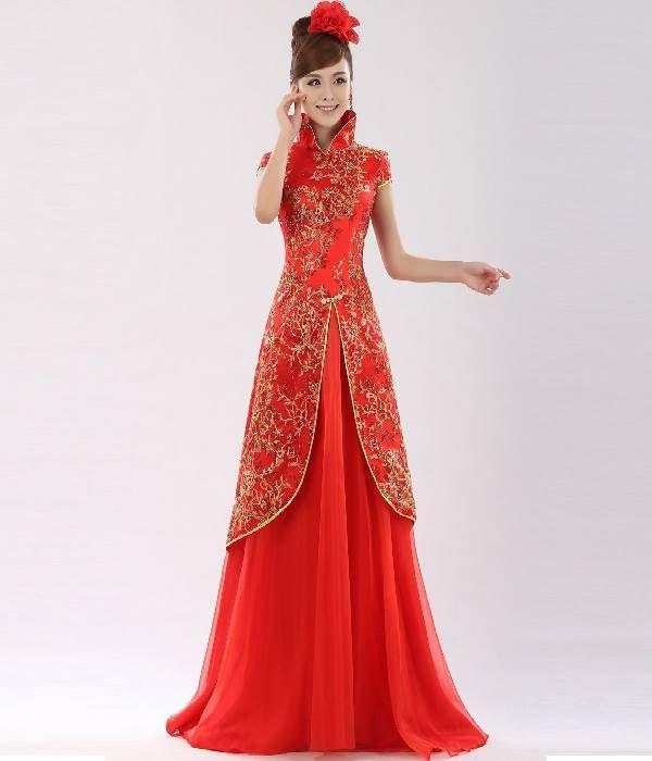 Unique Traditional Chinese Wedding Dress Women Dress Ideas