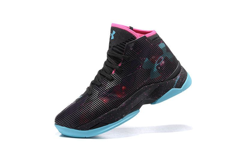 Under Armour Curry 2.5 Elite Miami South Beach Black Pink ...