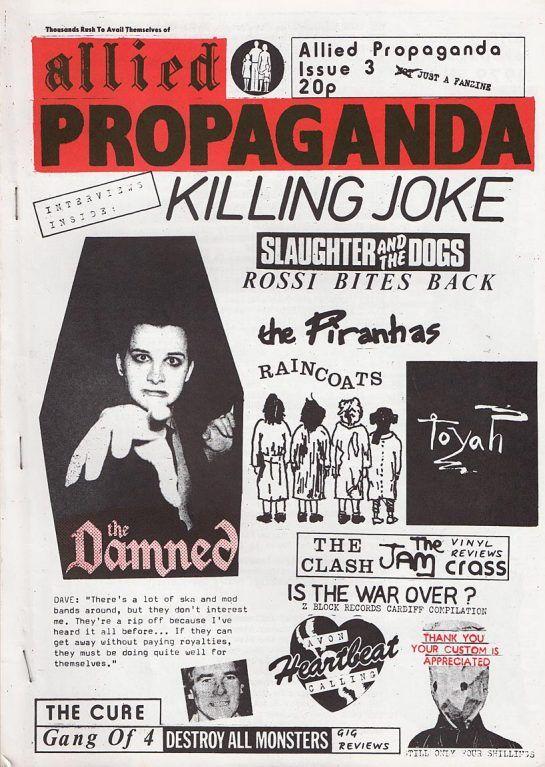 allied propaganda fanzine