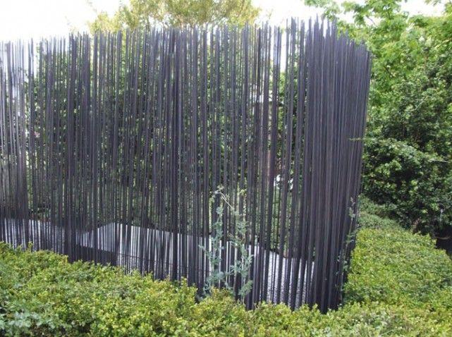 Pare Vue Et Brise Vent Protegent Le Jardin Elle Decoration Brise Vue Jardin Amenagement Jardin Brise Vent