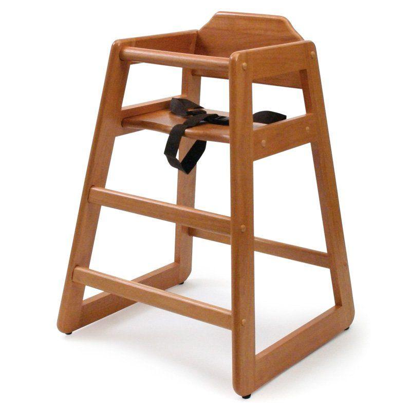 Lipper Basic Wood High Chair - 516