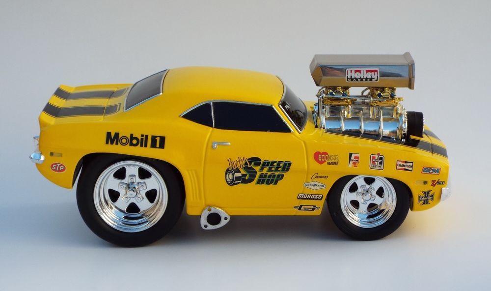 Muscle Machines Customized 69 Pro Stock Camaro Z28 Hot Rod Car 1 ...
