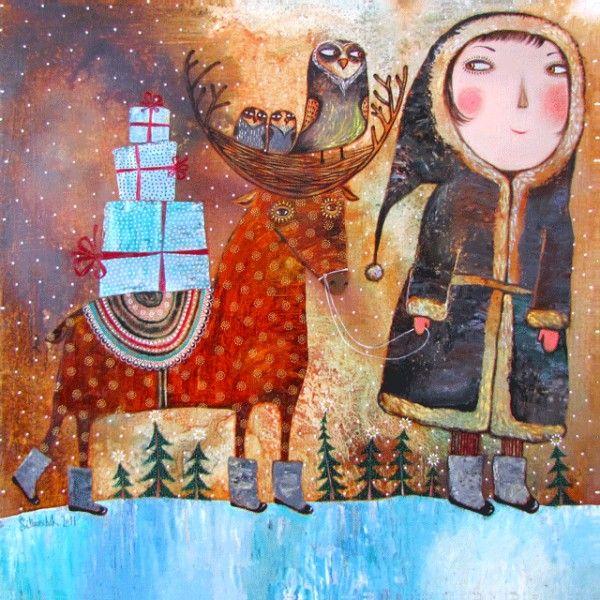 Вот ты какой, северный олень | Иллюстрации арт ...