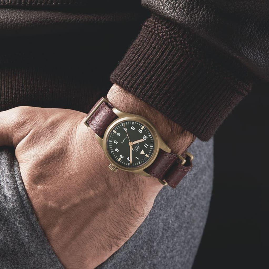 The Rake And George Cleverley Preview Their Upcoming Iwc Spitfire Automatic 36mm Uhren Herren Herrenuhren Gentleman