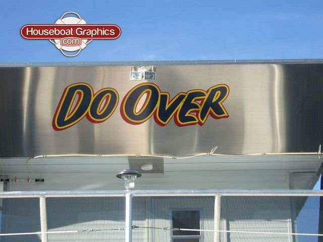 Doover Is A Creative Name For This Badboy Check Out These - Custom designed houseboat graphics