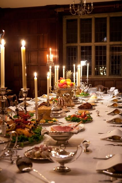 A Table Setting Created By Ivan Day For The Bbc