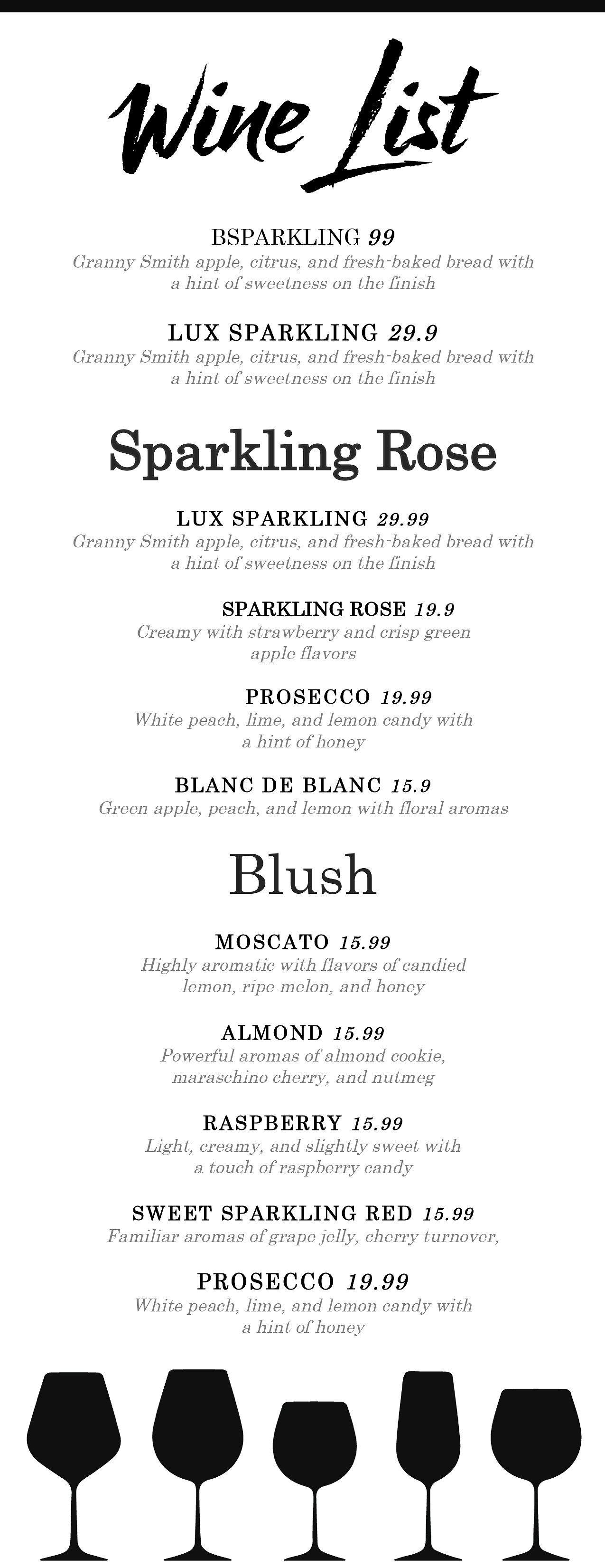 Wine List Wine Menu In 2021 Menu Template Restaurant Menu Template Wine List Menu