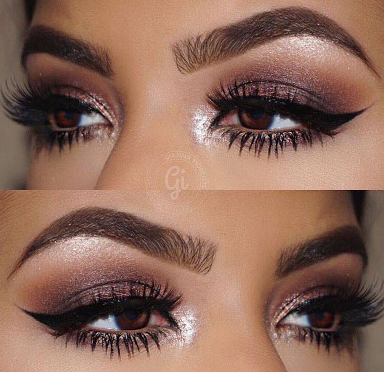 Pin By Lexi Jean On Beauty Eye Makeup Makeup Looks For Brown Eyes Bridal Makeup