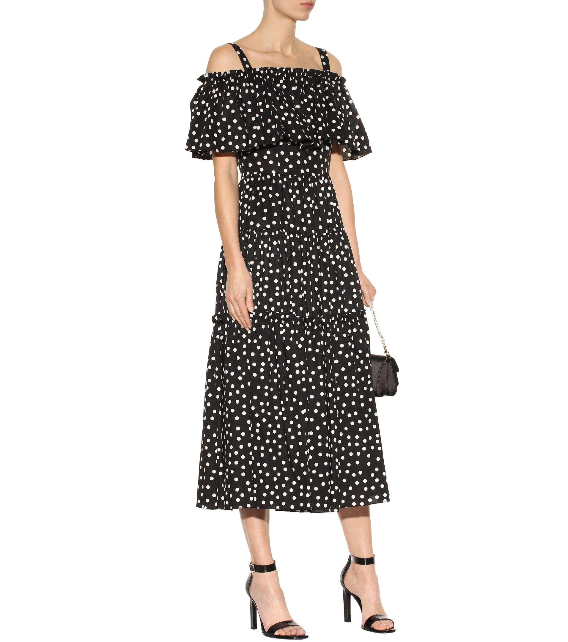 Schulterfreies Kleid aus Baumwolle Dolce & Gabbana s9OiORkm