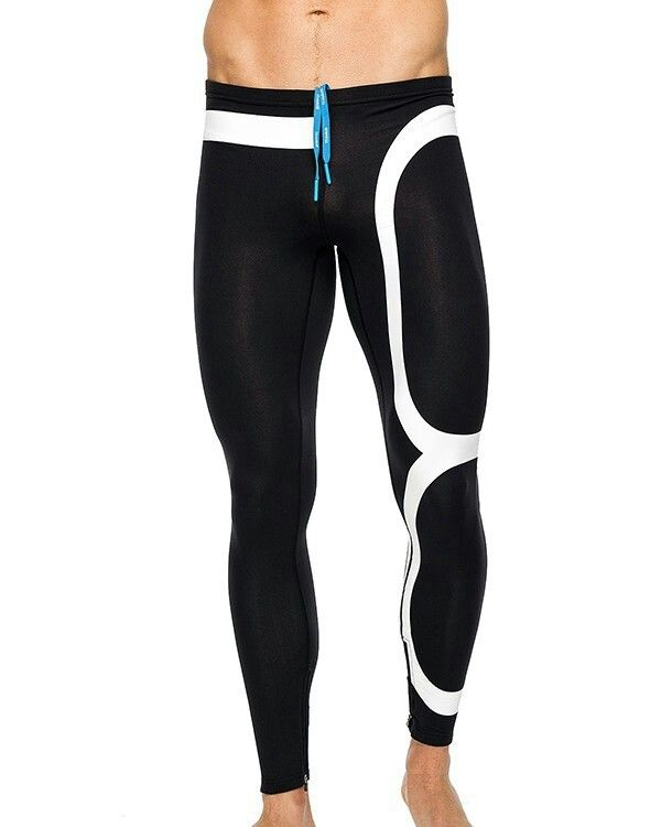 49e2c0d27c Mens Tights, Athletic Gear, Running Tights, Designer Clothes For Men, Black  And