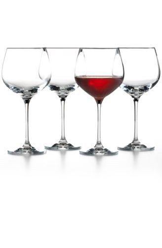 The Cellar Set Of 4 Premium Merlot Glasses 733001416364 Merlot