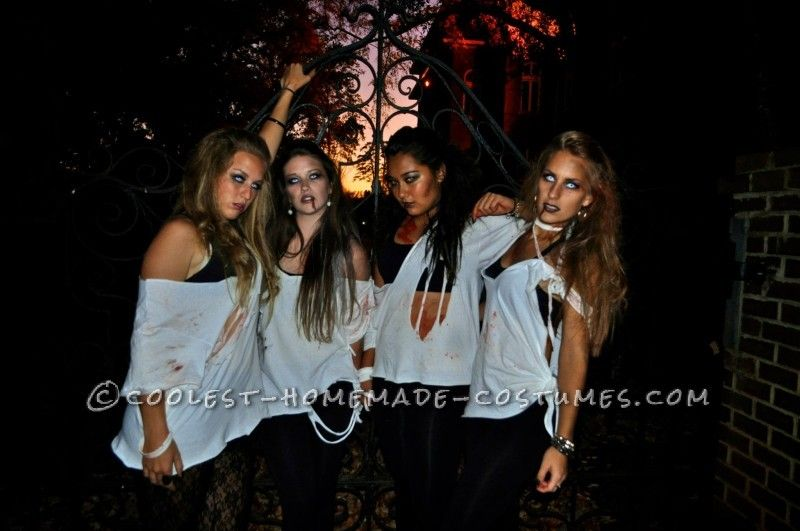 coolest 1000 homemade costumes you can make girl group halloween costumesteen - Easy Homemade Halloween Costumes For Teenage Girl