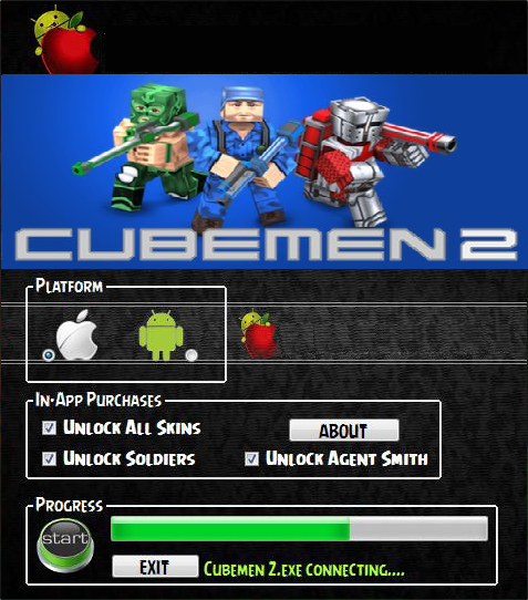 Cubemen 2 Android iOS Hacked Cheat Tool 2015 Cheating