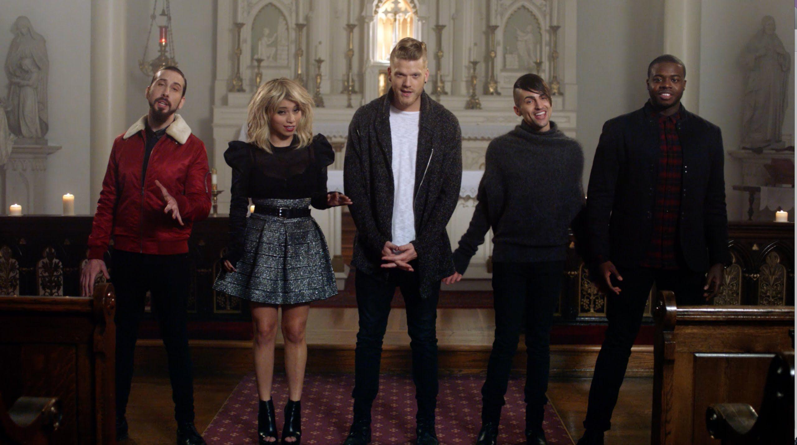 Official Video Joy To The World Pentatonix Pentatonix Christmas Music Videos Best Christmas Songs