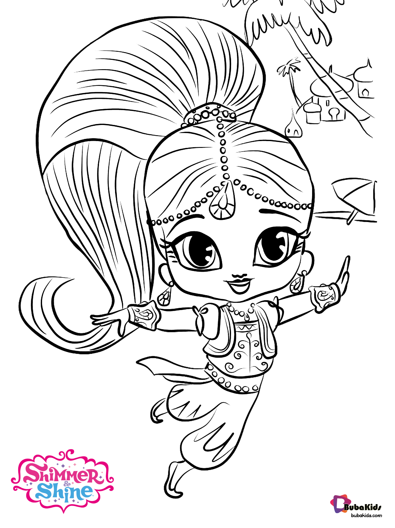 Samira Character Nick Jr Shimmer And Shine Coloring Page Collection Of Cartoon Coloring Pages For Te In 2020 Coloring Pages Cartoon Coloring Pages Poppy Coloring Page