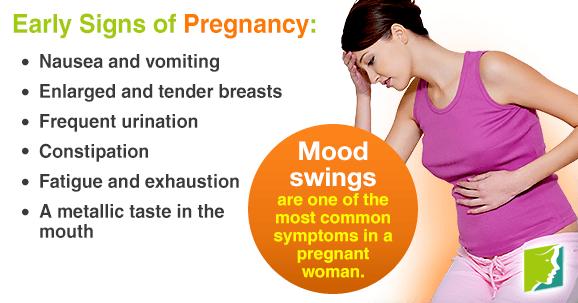 breast one pregnant sore