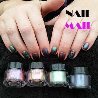 Real nail salon in bournemouth uk used our moroccan nail art real nail salon in bournemouth uk used our moroccan nail art stencils to create this pearlescent prinsesfo Images