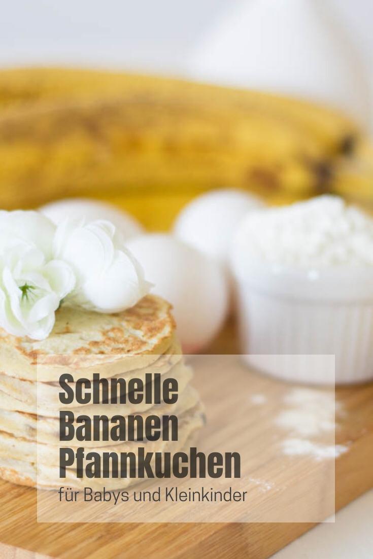 schnelle Bananen Pfannkuchen