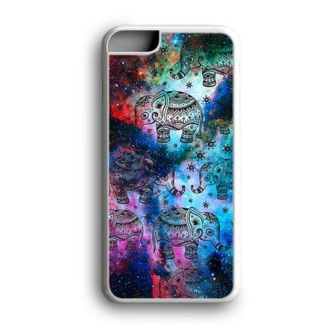 Elephant Aztec Mandala Galaxy Custom for iPhone Case and Samsung Case