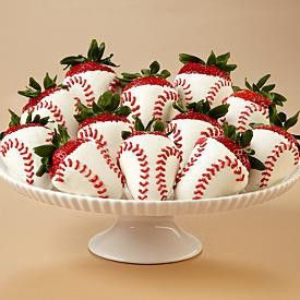 Baseball Strawberries.