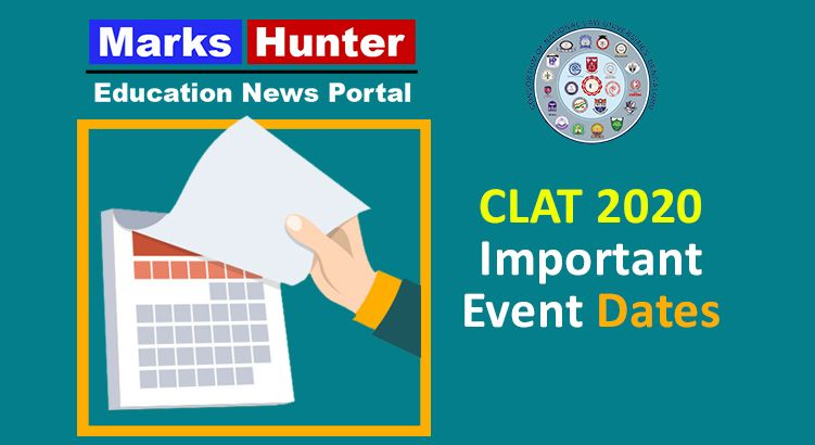 Clat 2020 Exam Date And Application Deadline Extended Marks Hunter In 2020 Exam Dating Education