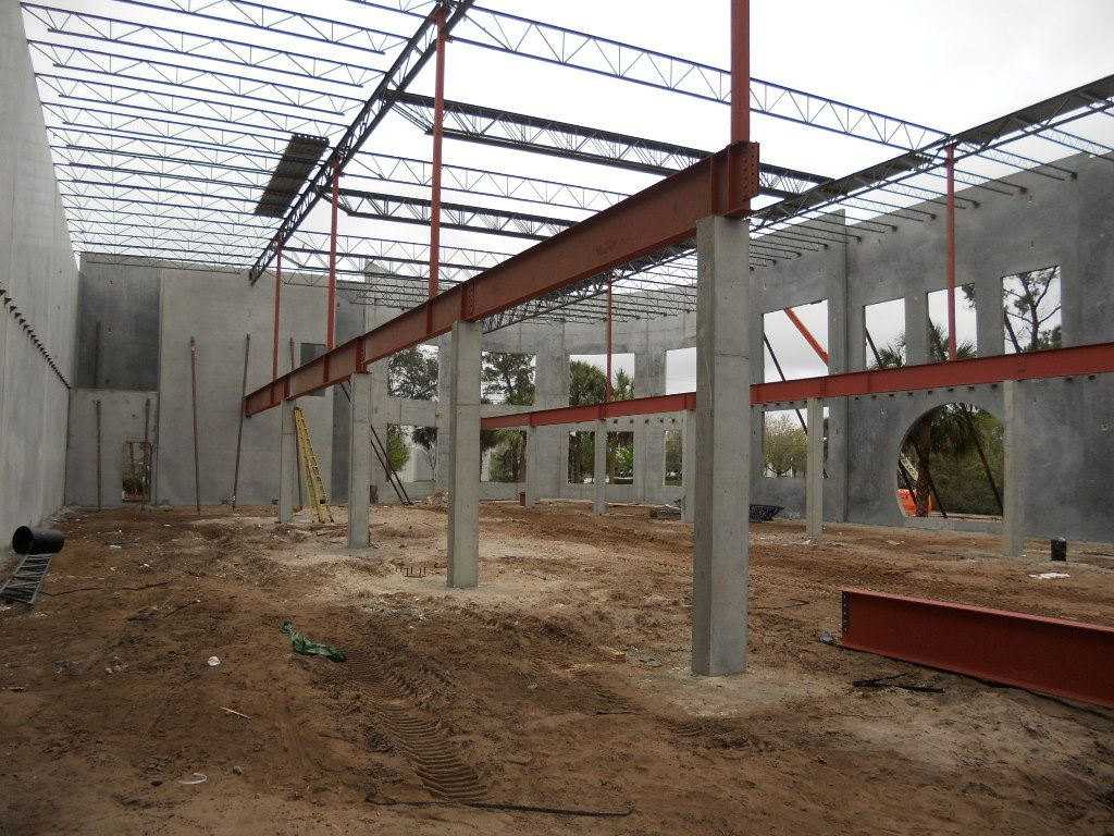 Formed Concrete Columns I Beam Steel Girder Concrete Deck Piers Precast Concrete Concrete Column