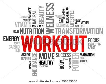 fitness words Wpa wpart