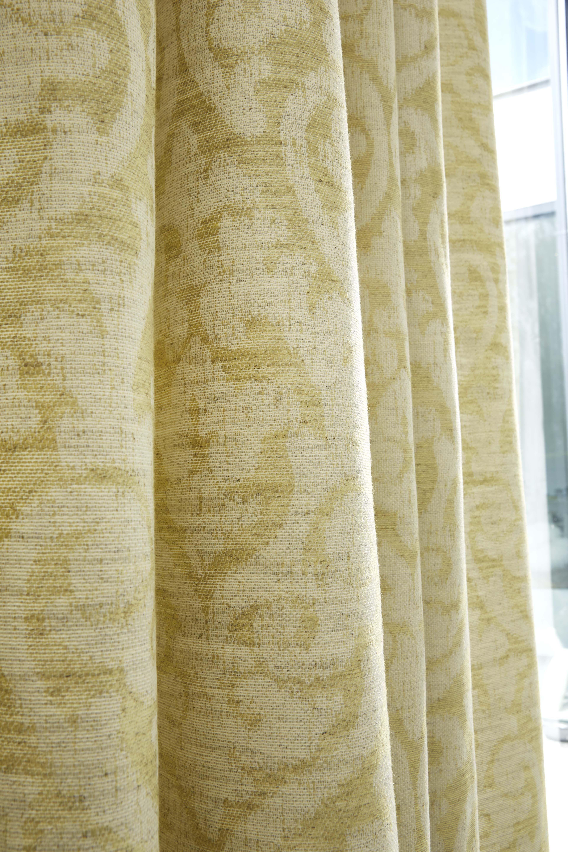 Focus rideau en tissu Justin Tilleul Collection Heytens