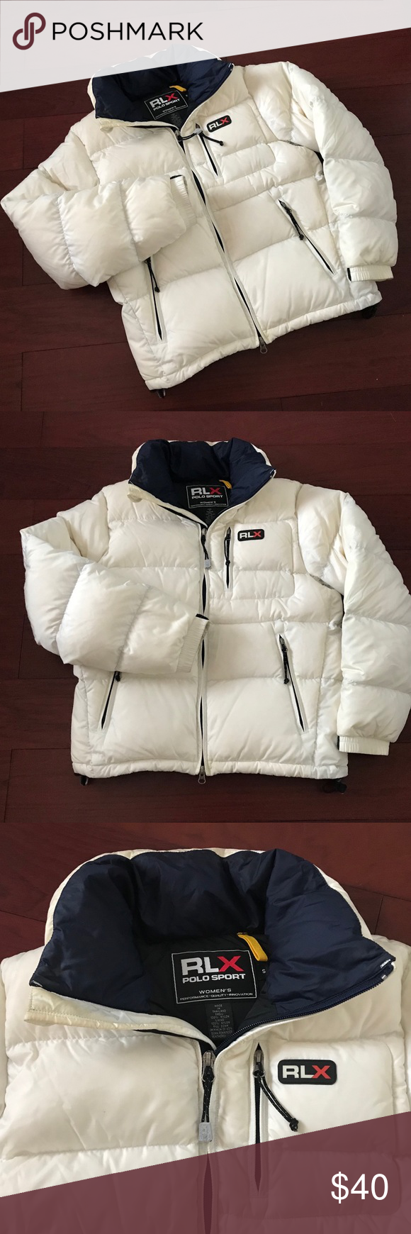 Polo Sport Puffer Size S Rlx Polo Sport Women S Puffer This White Puffer Is Great For The Ski Slopes Or Just Run Sports Women Puffer Ralph Lauren Jackets [ 1740 x 580 Pixel ]