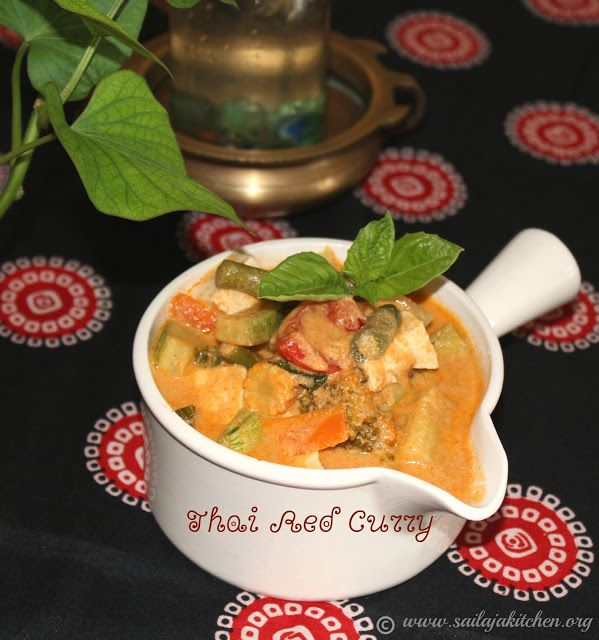 a site for all food lovers thai red curry