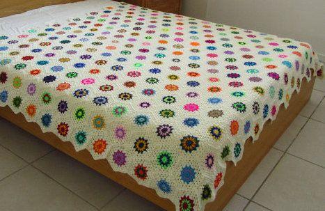 Queen Size Crochet Blanket For Sale Triptom