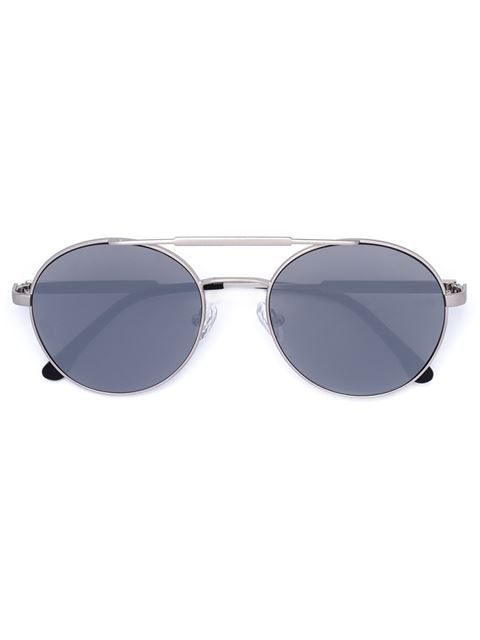 oversized round sunglasses - Grey Vera Wang X1j211coD