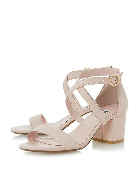 54e43b217019 Montie cross strap block heel sandal by Dune London - £70