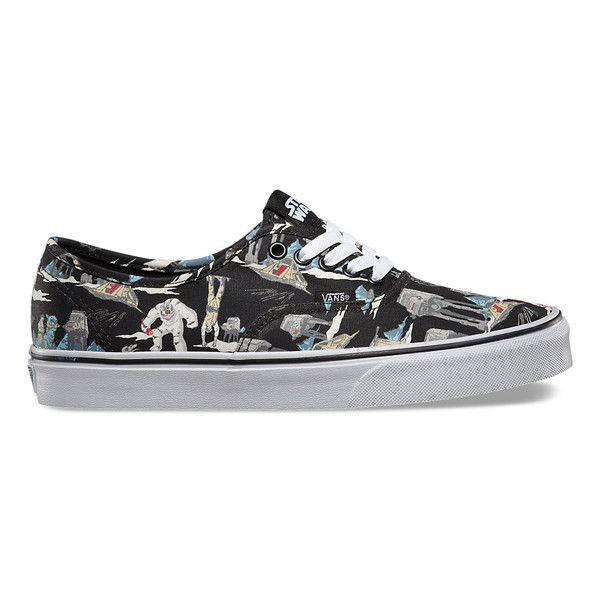 VANS MEN'S STAR WARS AUTHENTIC - DARK SIDE/PLANET HOTH