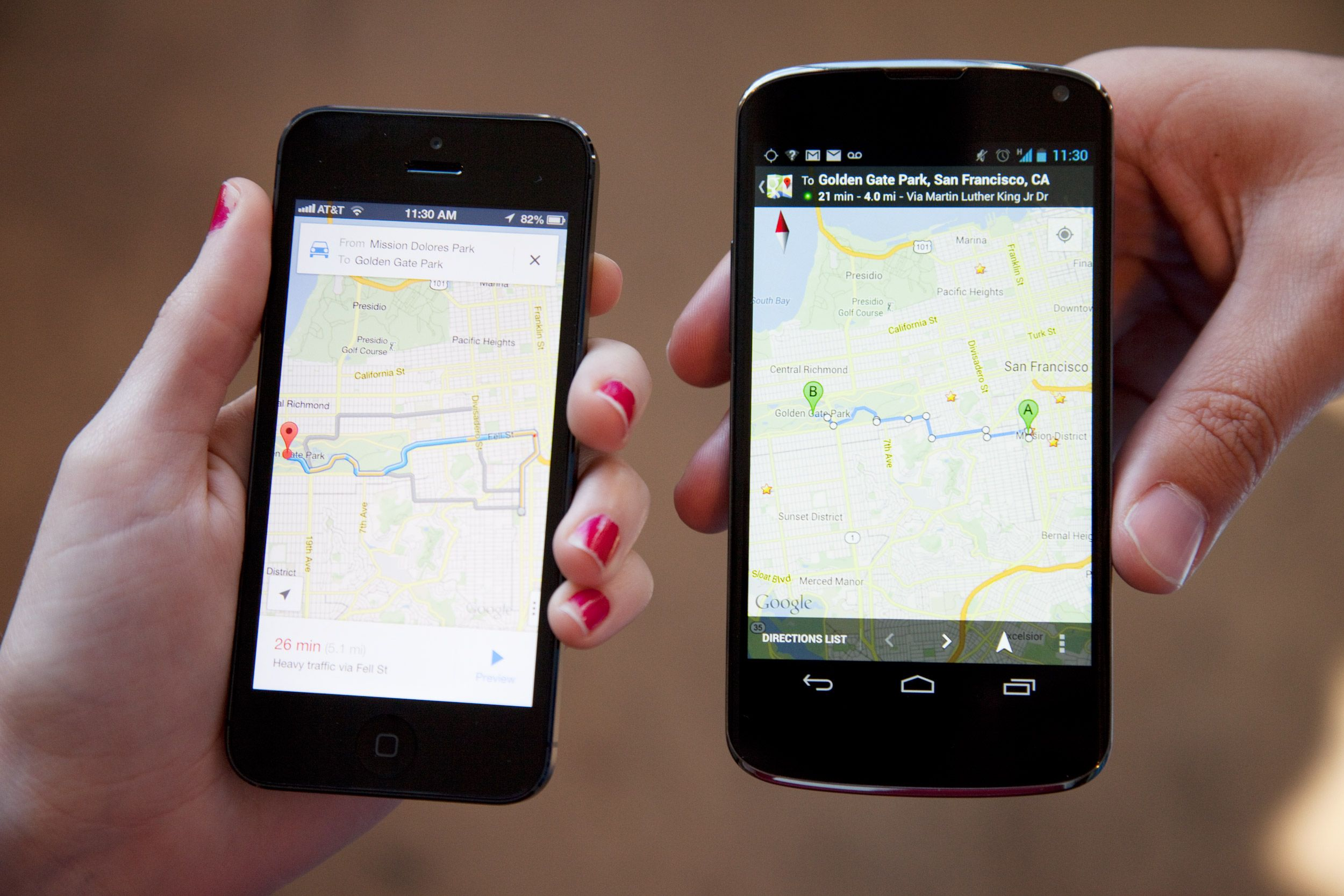 google maps app for windows phone