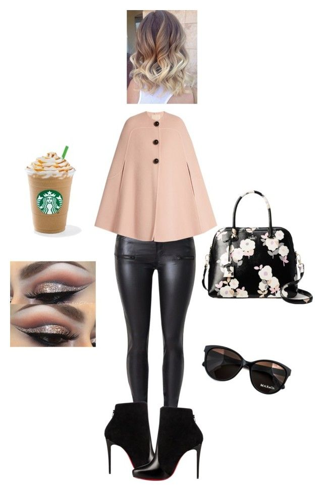 """""""City Chic✨"""" by angeliqueamor on Polyvore featuring Roksanda, Christian Louboutin, Kate Spade and Max&Co."""