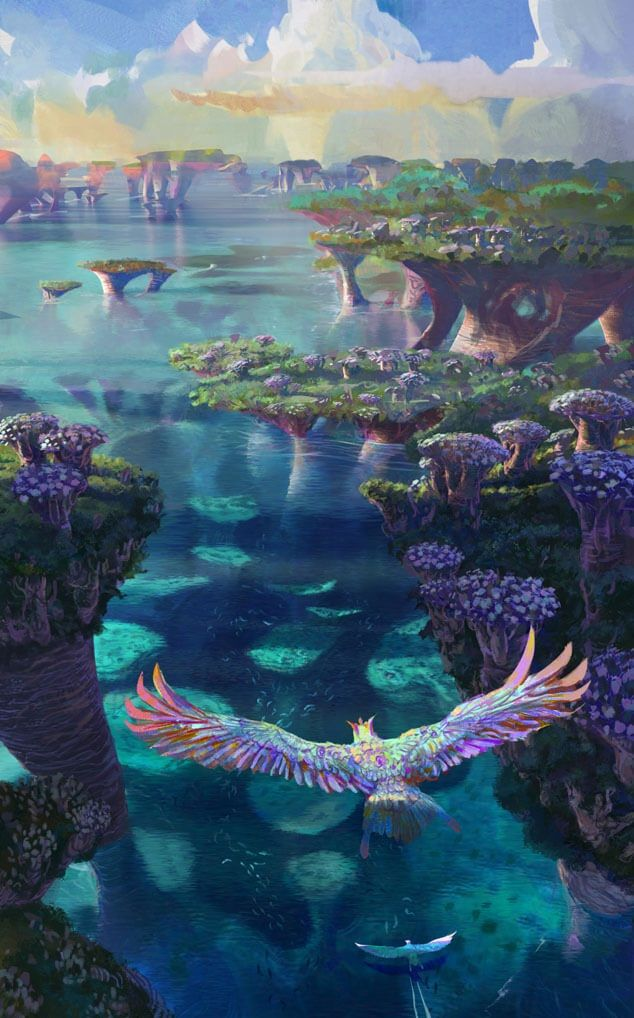 Map of Runeterra - Universe - League of Legends | Scenery | Lugares Runeterra Map on