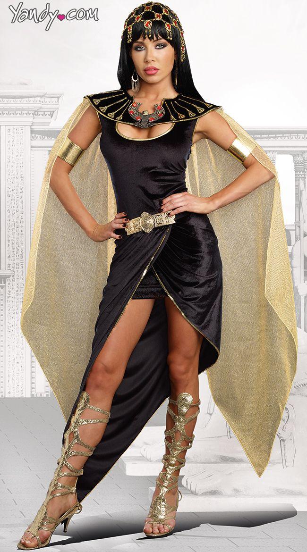 Sexy Cleo Costume Costumes, Halloween costumes and Black velvet